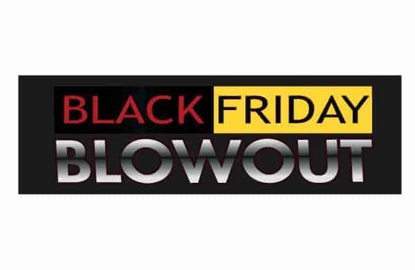 black friday weekend promotional package