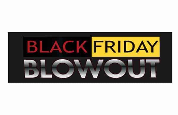 black friday weekend promotional package