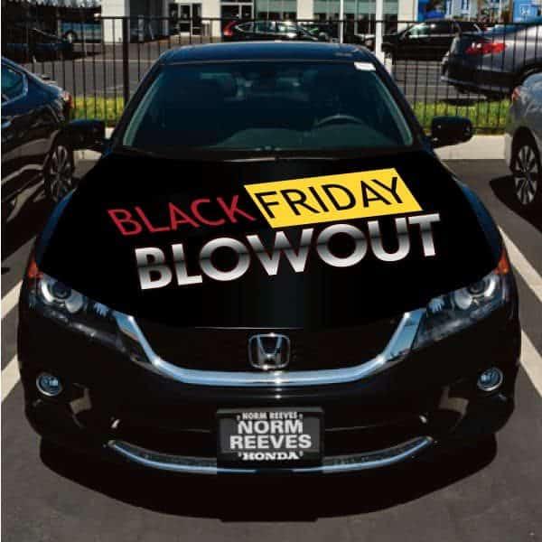 Black Friday Car Flag Hoodie
