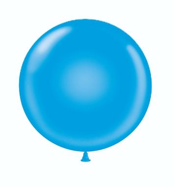 36 & 17 Blue Balloons