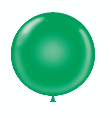36 & 17 Green Balloon