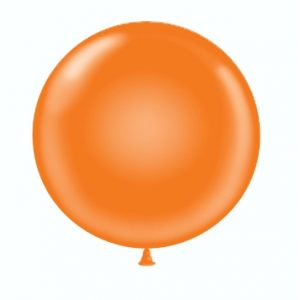 36 & 17 Orange Balloon