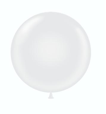 36 & 17 White Balloon