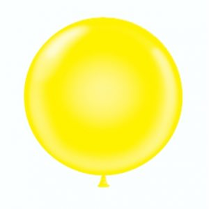 36 & 17 Yellow Balloon