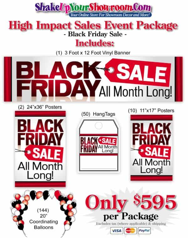 Black Friday Sales Event Package