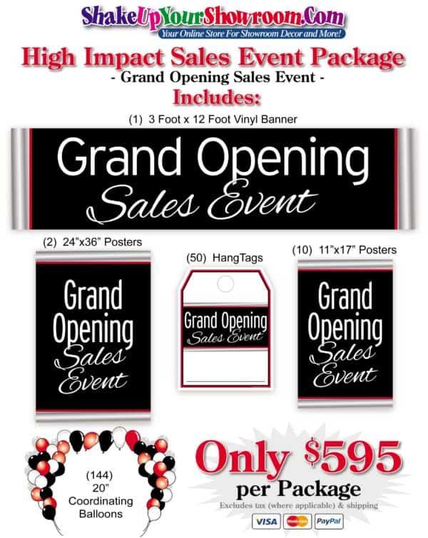 ShakeUpYourShowroom - Sales Event Package