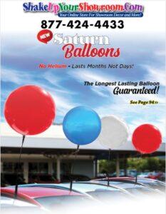 Saturn Balloons