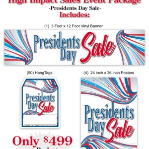 President Day's Sale Event