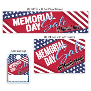 Memorial Day All Month Long Sales Event