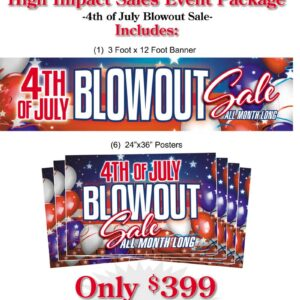 4th of July - Blowout Sale