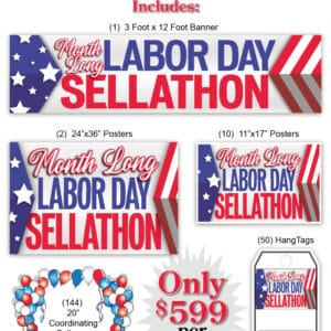 Month Long Labor Day Sellabration